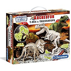 Clemontoni - Archeofun T-rex and Triceratops - kit