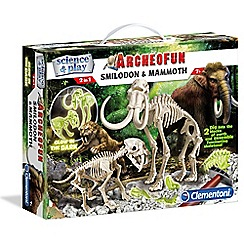 Clemontoni - Archeofun smilodon and mammoth