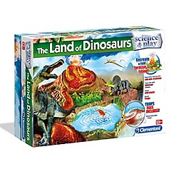 Clementoni - The land of dinosaurs Kit