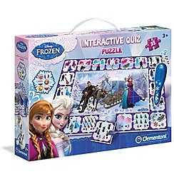 Disney Frozen - Interactive quiz puzzle