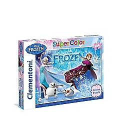 Disney Frozen - Glitter puzzle - 104 pieces