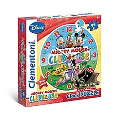 Mickey Mouse Clubhouse - 96 pieces - Clock Puzzle