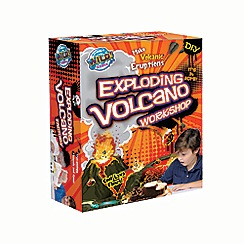 Wild Science - Exploding volcano workshop