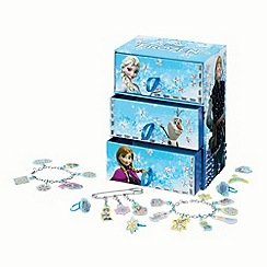 Disney Frozen - Cool create fun tiles deluxe jewellery box