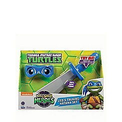 Teenage Mutant Ninja Turtles - Half-shell heroes talking soft ninja - Leo