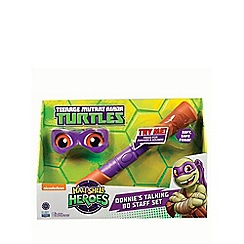 Teenage Mutant Ninja Turtles - Half-shell heroes talking soft ninja - Donnie