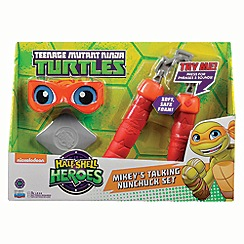 Teenage Mutant Ninja Turtles - Half-shell heroes talking soft ninja - Mikey