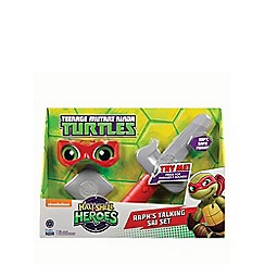 Teenage Mutant Ninja Turtles - Half-shell heroes talking soft ninja - Raph
