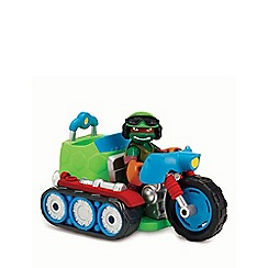 Teenage Mutant Ninja Turtles - Half-shell heroes - tread cycle with Raph