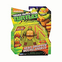 Teenage Mutant Ninja Turtles - Action figure head dropping Mikey