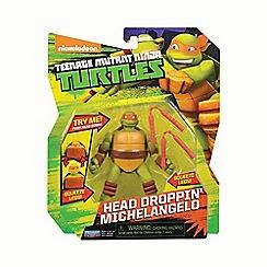 Teenage Mutant Ninja Turtles - Action figure head dropping Mikey