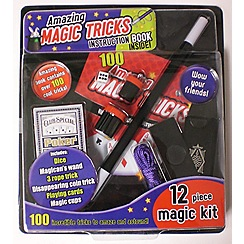 Parragon - Amazing Magic Tricks 12 piece set