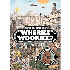 Star Wars - Where's the Wookiee Search and Find Book