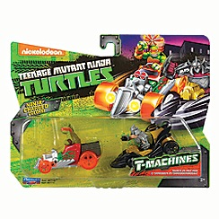Teenage Mutant Ninja Turtles - T-machines vehicle - Mikey and Shredder