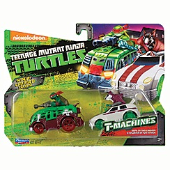 Teenage Mutant Ninja Turtles - T-machines vehicle - Raph & Splinter