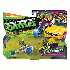 Teenage Mutant Ninja Turtles - T-machines vehicle - Leo & Donnie