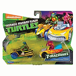 Teenage Mutant Ninja Turtles - T-machines vehicle - Leo & Fishface