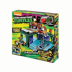 Teenage Mutant Ninja Turtles - T-machines playset - garage & lair