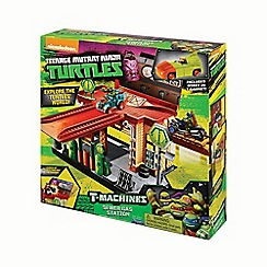 Teenage Mutant Ninja Turtles - T-machines playset - sewer gas station
