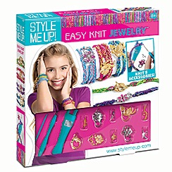 Style Me Up - Easy knit bracelets