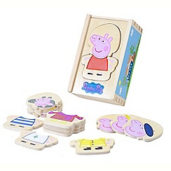 Peppa Pig - Wooden dress-up