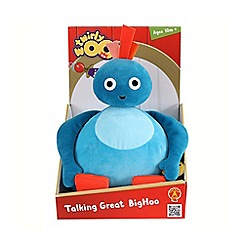 Twirly Woos - Talking 'Great Bighoo' soft toy