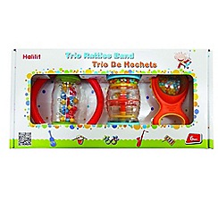 Halilit - Trio Rattle Band Music Set