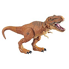 Jurassic World - Stomp and strike tyrannosaurus rex figure