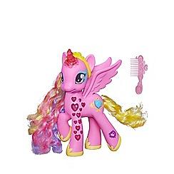 My Little Pony - Cutie mark magic glowing hearts princess cadance figure