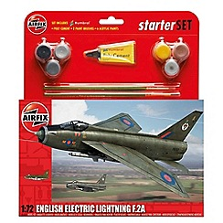 Airfix - Scale English Electric Lightning F.2A Starter Gift Set