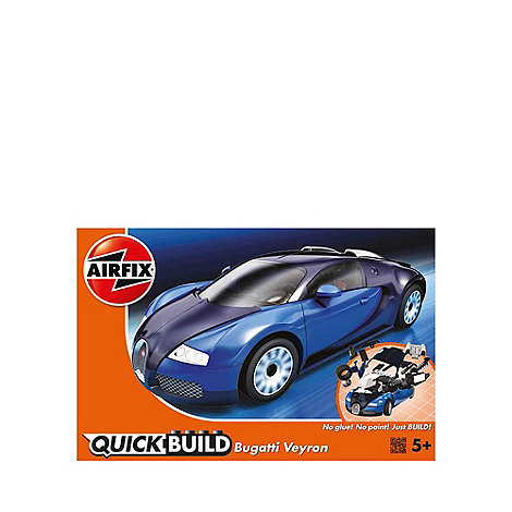 airfix quick build bugatti veyron debenhams. Black Bedroom Furniture Sets. Home Design Ideas