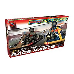 Micro Scalextric - Karts 1:64 Scale Race Set