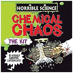 Horrible Science - Chemical chaos
