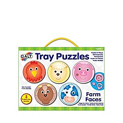 Galt - Tray puzzle farm faces