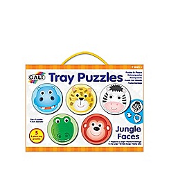 Galt - Tray puzzles jungle faces