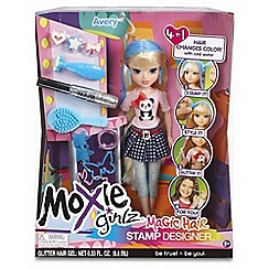 Moxie Girlz - Magic Hair Stamp Designer Doll - Avery