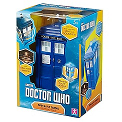 Doctor Who - Spin and fly tardis