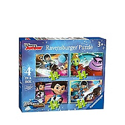 Disney - Miles From Tomorrow 4 in 1 Jigsaw Puzzles