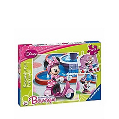 Minnie Mouse - Jigsaw puzzles 3 x 49 pieces