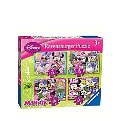 Minnie Mouse - 4 in 1 jigsaw puzzles