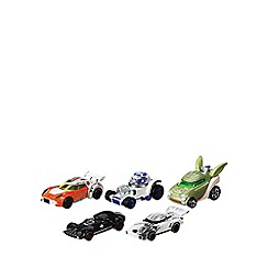 Star Wars - Hot Wheels 1:64 Character Car 5 Pack