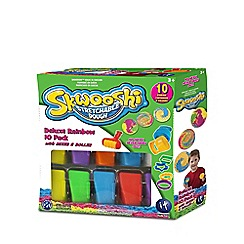 Mookie - Skwooshi 10 colour dough & roller