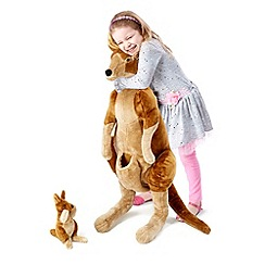 Melissa & Doug - Kangaroo and Joey - Plush