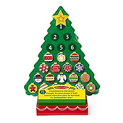 Melissa & Doug - Countdown to Christmas Advent Calendar