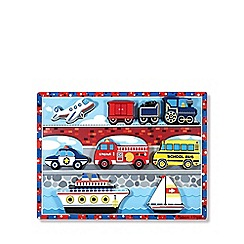 Melissa & Doug - Vehicles chunky puzzle