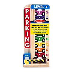 Melissa & Doug - Stack and Count Parking Garage
