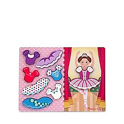 Melissa & Doug - Ballerina Dress-Up puzzle