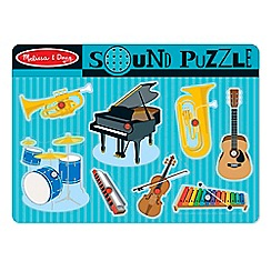 Melissa & Doug - Musical instruments sound puzzle