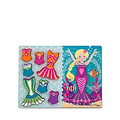 Melissa & Doug - Mermaid dress-up puzzle