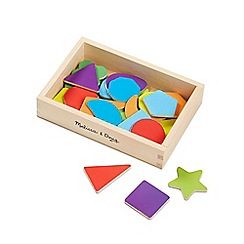 Melissa & Doug - Shape magnets